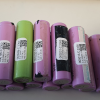 18650 Li-Ion Cell from Laptop Batteries, 2200-2400 mAh Capacity